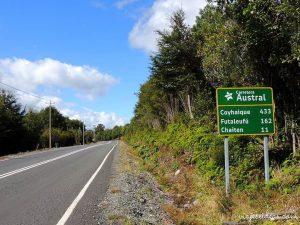 Carretera Austral - Chile - A estrada Carretera Austral tem trechos asfaltados como esse.