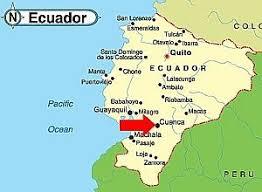 Cuenca - Equador - Onde fica - Mapa de localização.