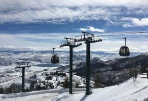 Deer Valley - Utah - EUA - Teleférico - Famosa estação de esqui.
