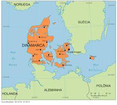 Dinamarca - Onde fica