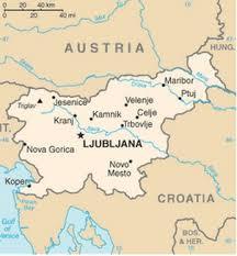 Liubliana - Onde fica