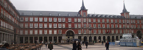 Plaza Mayor - Madri - Espanha