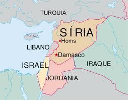Síria - Onde fica -
