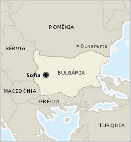 Sofia - Bulgária - Onde fica