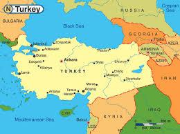 Turquia - Onde fica
