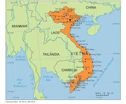 Vietnã - Onde fica