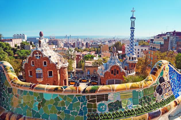 Parc Güell - Barcelona - Espanha