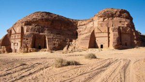 Antiga cidade de Mada'in-Saleh - As belezas da Arábia Saudita
