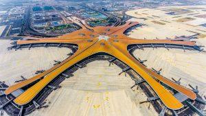 Aeroporto Internacional de Daxing - China - Pequim inaugura novo aeroporto ultramoderno.