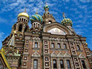 Igreja do Sangue Derramado - São Petersburgo - São Petersburgo - capital cultural da Rússia