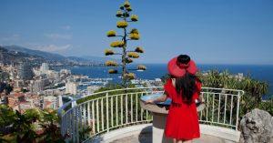 Vista de Mônaco - Principado de Mônaco - Muito luxo.