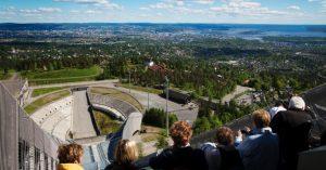 Oslo - Noruega - Museu do Esqui - Oslo inspira visitantes com arte e arquitetura.