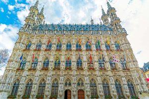 Town Hall - Leuven - Bélgica - Capital da cerveja belga
