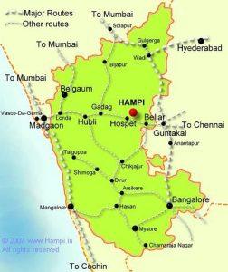 Hampi - Índia - Onde fica ?