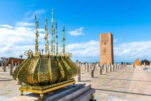 A Torre Hassan - Minarete construído no século XII - Rabat - Marrocos