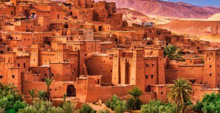 Cidade fortificada Ait-Benaddou - Norte do Marrocos