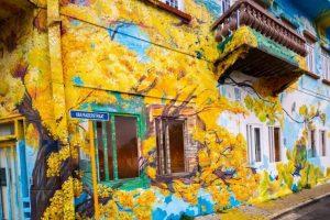 Edifícios coloridos em Willemstad