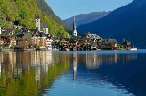 Hallstatt - Áustria - Vilarejos fofos