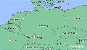 Heidelberg - Onde fica ?