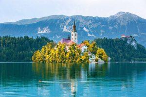 Lago Bled -Eslovênia