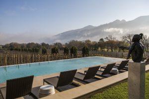 Leeu Estates em Franschhoek - África do Sul
