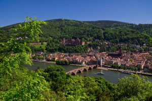 Passeio pelo Caminho dos Filósofos - Heidelberg - Alemanha