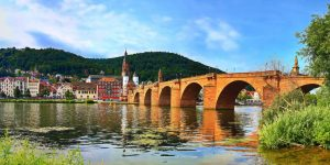 Ponte Velha - Heidelberg - Alemanha