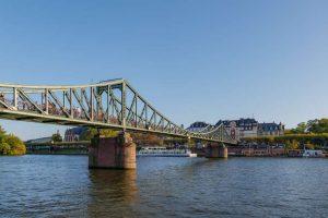 Ponte de Ferro - Frankfurt - Alemanha