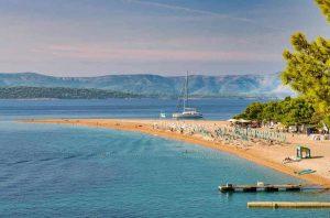 Praia de Zlatni Rat - Brac - Croácia - Ilhas da Croácia - Conheça