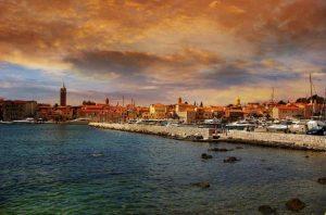Rab - Croácia - Vista para o centro da ilha - Ilhas da Croácia - Conheça