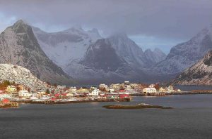 Reine - Noruega - Vilarejos fofos