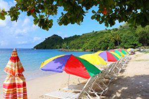 Santa Lucia - Ilha Pigeon - Praias secretas no Caribe
