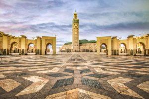 Vista da Mesquita Hassan II - A segunda maior do mundo